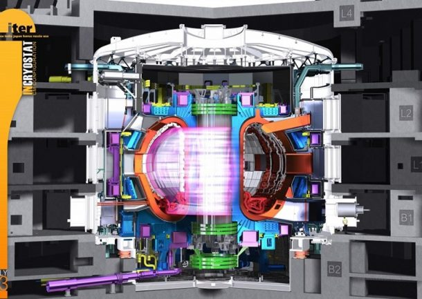 World's Largest Tokamak Reactor. Credits: ITER