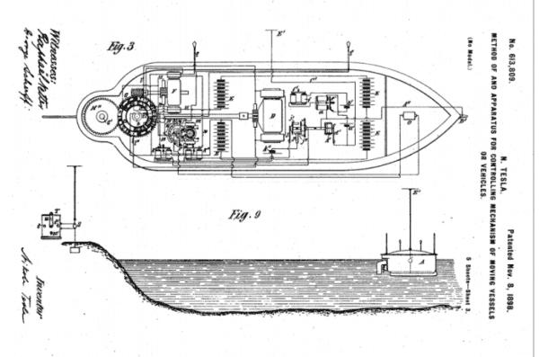 Nikola Tesla Predicted Drone Warfare in 1898_Image 0