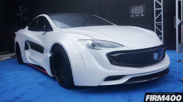Not A Supercar This Is Will.I.Am's Newest Creation A Widebody Tesla_Image 01
