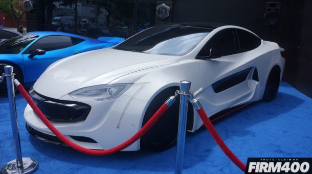 Not A Supercar This Is Will.I.Am's Newest Creation A Widebody Tesla_Image 03