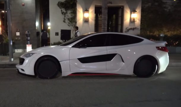 Not A Supercar This Is Will.I.Am's Newest Creation A Widebody Tesla_Image 3