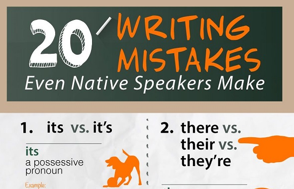 Simple writing mistakes