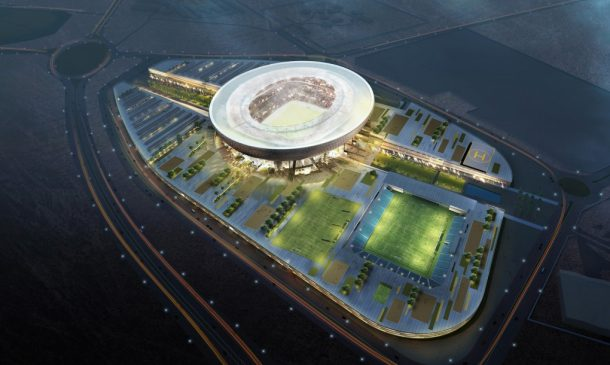 Smart Design Of The New Bowl-shaped UAE Stadium Ensures It Remains Naturally Cool In Blazing Heat_Image 1