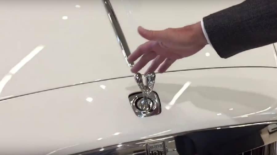 Stealing A Rolls Royce Hood Ornament
