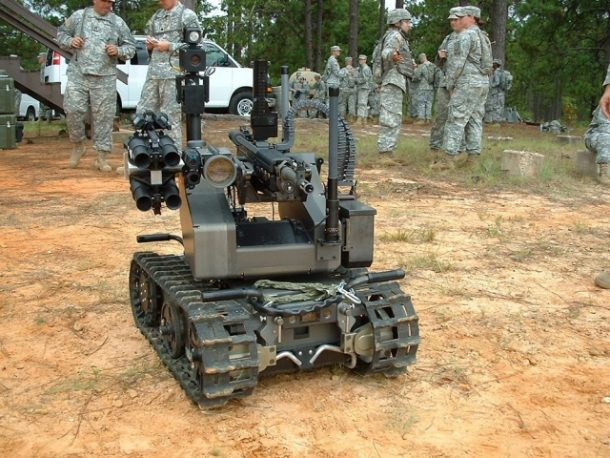 The US Marines Are Testing A Robot Equipped with a Machine Gun_Image 0
