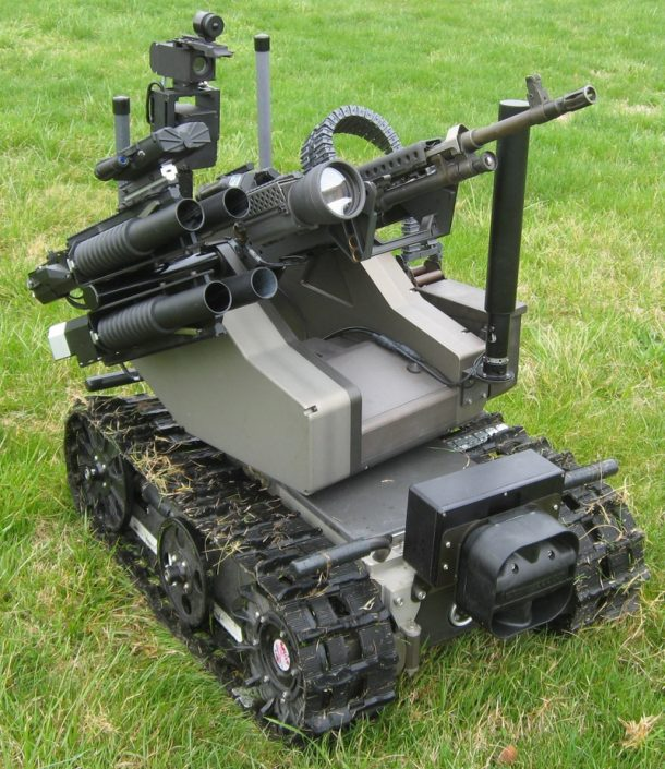 The US Marines Are Testing A Robot Equipped with a Machine Gun_Image 2