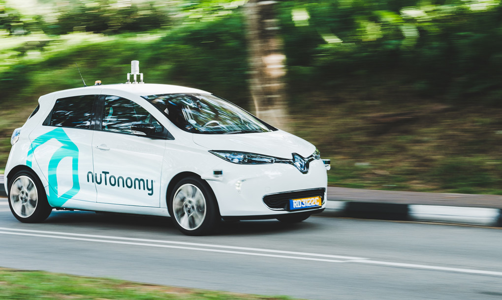 The World's First Fleet Of Self-Driving Taxis Hits The Roads In Singapore_Image 0