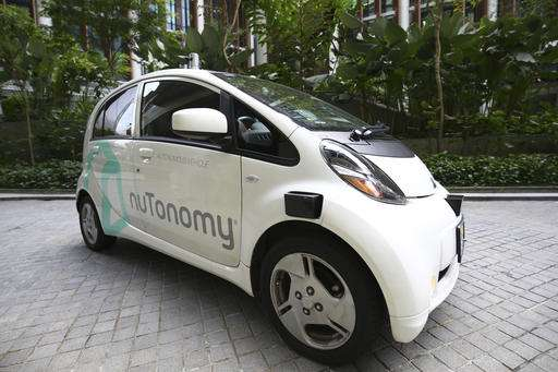 The World's First Fleet Of Self-Driving Taxis Hits The Roads In Singapore_Image 5