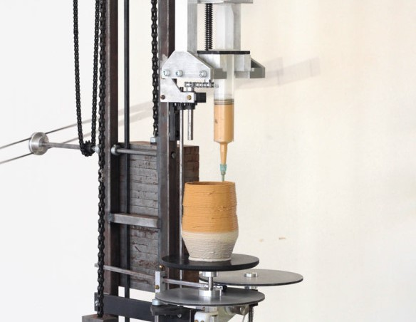 The World's First Analog 3D printer Uses Weights And Gravity To Produce Beautiful Objects_Image 00