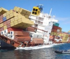 This Dramatic Video Shows The Sinking Container Ship RENA_Image 0