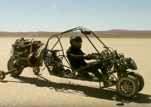 This Guy Hated Traffic So He Engineered A Gyrocopter-Like Motorcycle Flying Car_Image 0