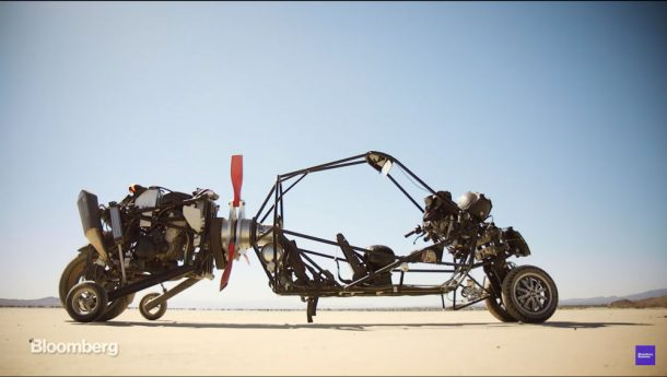 This Guy Hated Traffic So He Engineered A Gyrocopter-Like Motorcycle Flying Car_Image 1