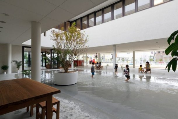 This Japanese Family Home Design Allows The Rain Inside_Image 14