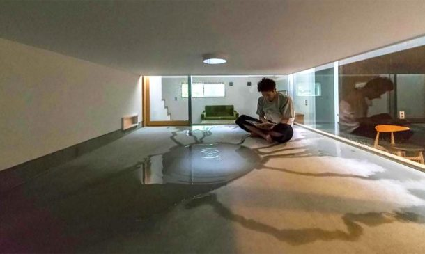 This Japanese Family Home Design Allows The Rain Inside_Image 2