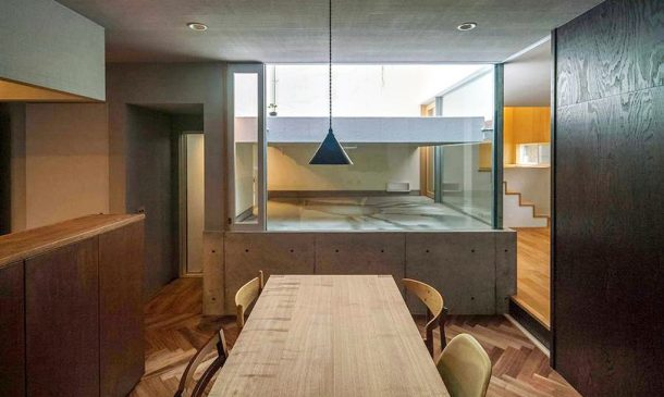 This Japanese Family Home Design Allows The Rain Inside_Image 5