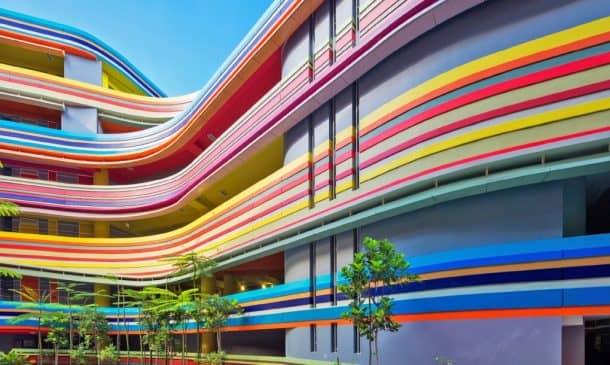 This Joyful Design Of This Crazy Singapore School Rainbow Is A Rainbow Of Colours_Image 2