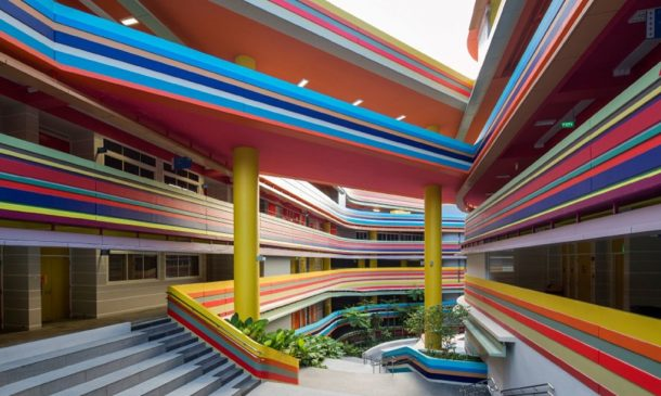 This Joyful Design Of This Crazy Singapore School Rainbow Is A Rainbow Of Colours_Image 3
