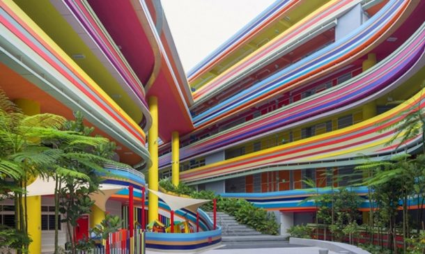This Joyful Design Of This Crazy Singapore School Rainbow Is A Rainbow Of Colours_Image 5