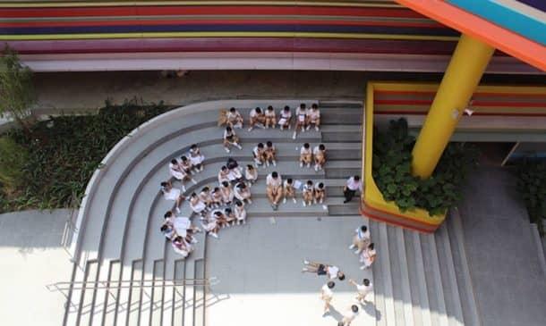 This Joyful Design Of This Crazy Singapore School Rainbow Is A Rainbow Of Colours_Image 6