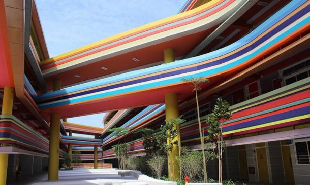 This Joyful Design Of This Crazy Singapore School Rainbow Is A Rainbow Of Colours_Image 7