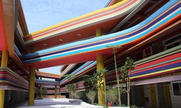 This Joyful Design Of This Crazy Singapore School Rainbow Is A Rainbow Of Colours_Image 7