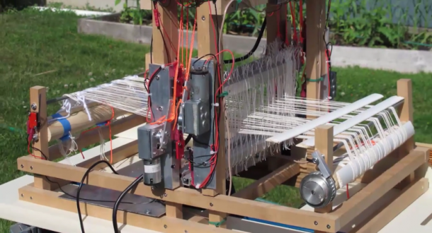 This Man Used A Raspberry Pi to Automate A Hand-Powered Loom-image 0
