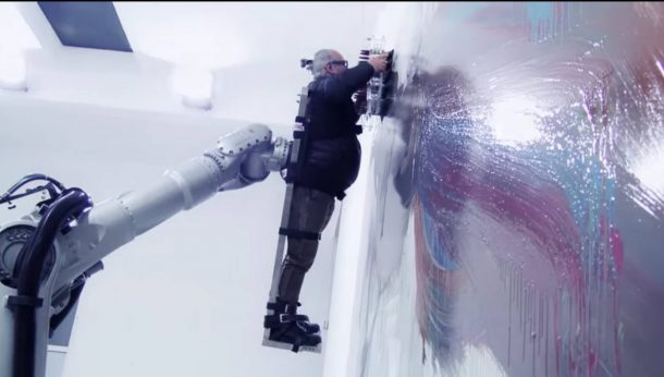 This Massive Robot Uses Humans As A Paint Brush_Image 0