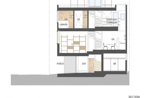 This Super Skinny 4-Meter-Wide House Is Squeezed Between Two Buildings In Tokyo_Image 7