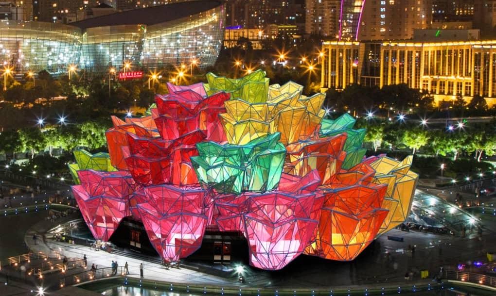 Vasily Klyukin Creates Rose Pavilion To Celebrate Architecture_Image 0
