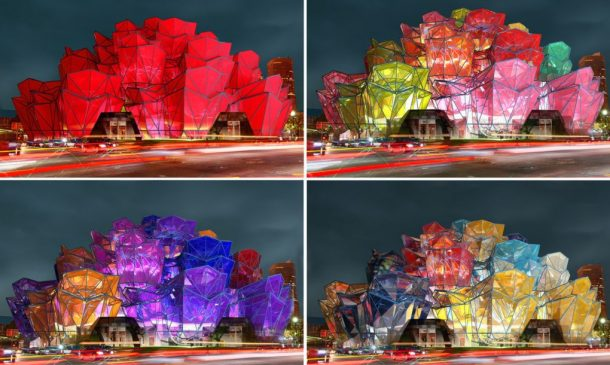 Vasily Klyukin Creates Rose Pavilion To Celebrate Architecture_Image 6