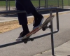 Watch This Incredible Skateboarder Spin His Board Around A Railing_Image 1