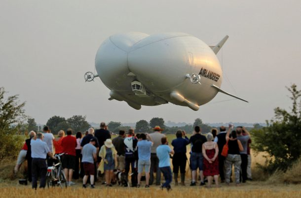 World's Largest Aircraft Airlander 10 Completes Its Maiden Flight Successfully_Image 0