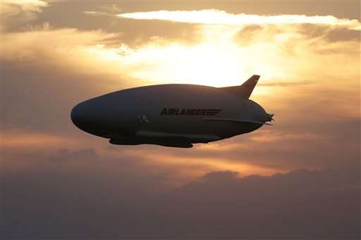 World's Largest Aircraft Airlander 10 Completes Its Maiden Flight Successfully_Image 00