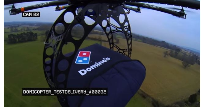 Your Next Order From The Domino's Pizza May Be Delivered By A Drone_Image 1
