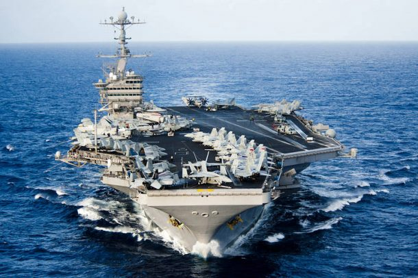 US Navy Aircraft carrier. Credits: Scout
