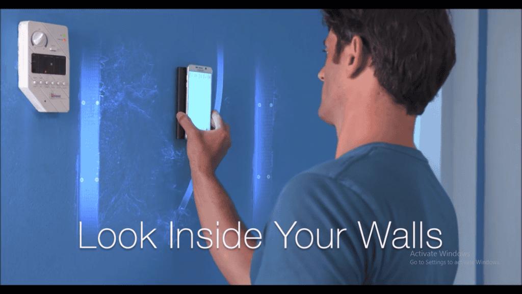 diy look inside your walls app