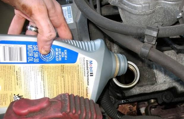 engine oil mobil 1