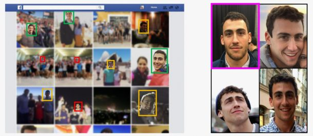 Spotting poor, mediocre, and high-quality images of one study participant's face using publicly available Facebook photos. Credits: DEPARTMENT OF COMPUTER SCIENCE/UNC CHAPEL HILL