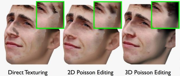 Working on facial rendering to produce realistic texture. Credits: DEPARTMENT OF COMPUTER SCIENCE/UNC CHAPEL HILL