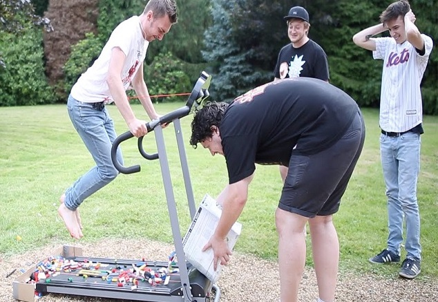 lego challange treadmill