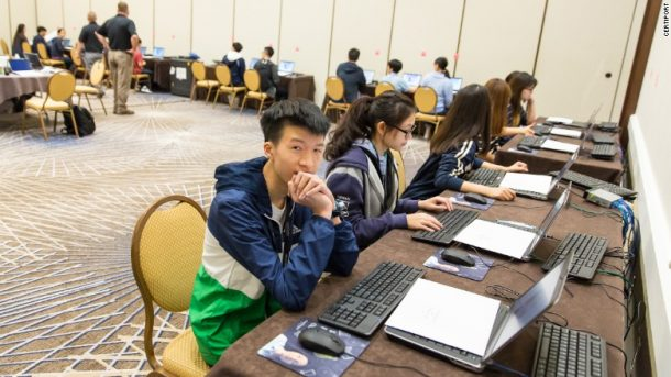 Participants come from all over the world to compete in the Microsoft Office Specialist World Championships. Credits: Certiport