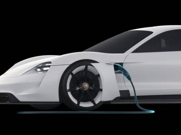 310 miles per charge. Credits: Porsche