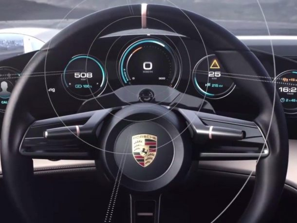 Eye-Tracking Technology. Credits: Porsche