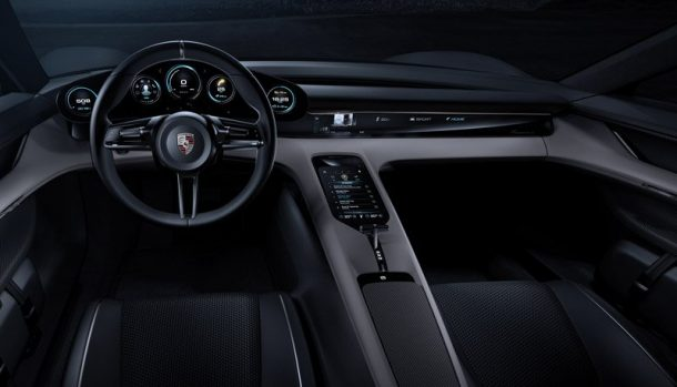 Instruments of Display move with shift in your position. Credits: Porsche