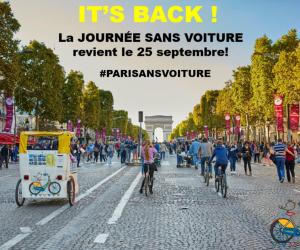paris trafic free day