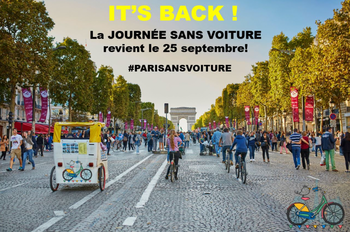 Paris To Go Completely Free Of Traffic For One Day In September