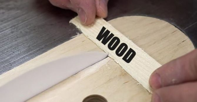 table saw wood