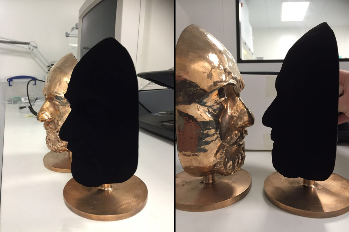 World's Blackest Material Is Now The World's Blackest Spray Paint