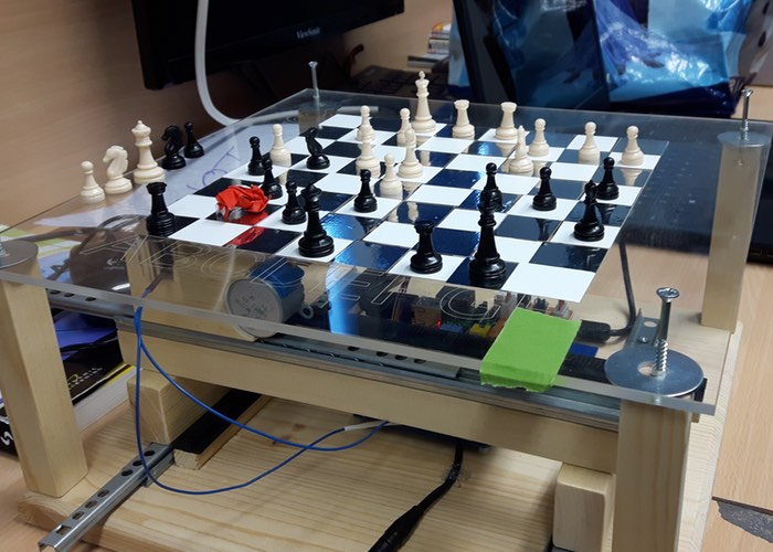 An Ardent Potterhead Used Raspberry Pi To Create Battle Chess Set_Image 0