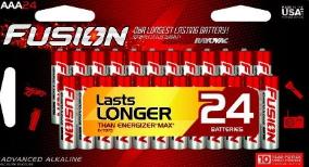 Fusion AAA Battery